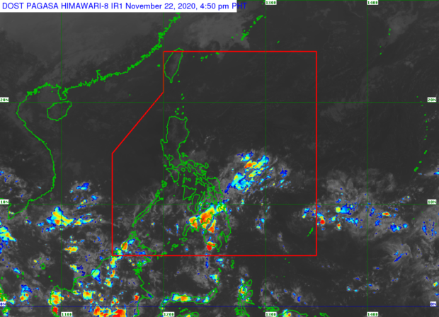 Amihan to bring light rains over northern Luzon
