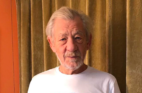 Sir Ian McKellen receives COVID-19 vaccine, encourages others to do the same