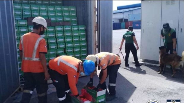 P9.3M in smuggled carrots, broccoli seized in Subic